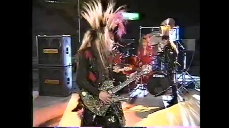 X-Japan- Kurenai(TV 1989)