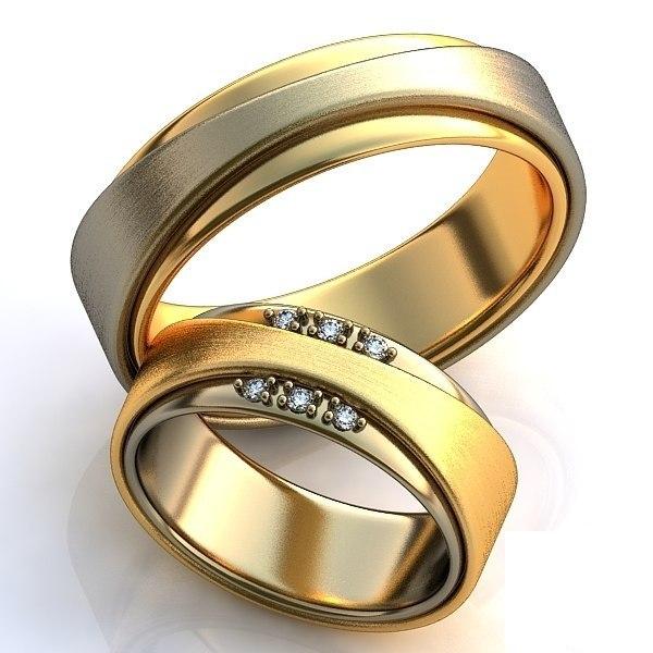 широкие кольца из золота цена