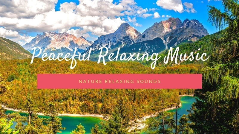 1 Hour Of Peaceful Music Waterfall Sounds For Meditation, Relaxation, Mind Healing, Sleep Yoga