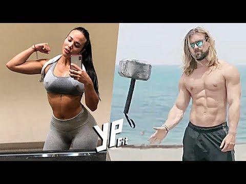 ACAYİP GÜÇLÜ İNSANLAR EN İLGİNÇ ANLAR 😱😱 🔥 Fitness Motivasyon