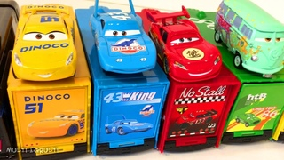 Тачки 3 Игрушки Мультики Машинки Развивающие Мультфильмы Учим Цвета Английский