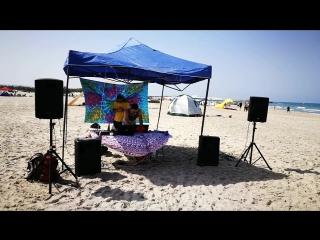 Friends beach party