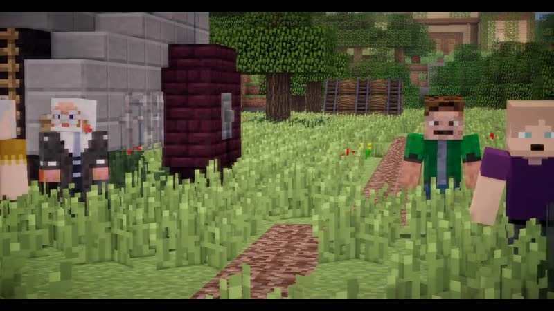 "Minecraft сериал _""Феномен_"" 3 серия."