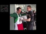 Футбол.ЧМ 2018. У Мексиканского болельщика при осмотре на стадион,полиция обнаружила страшное оружие