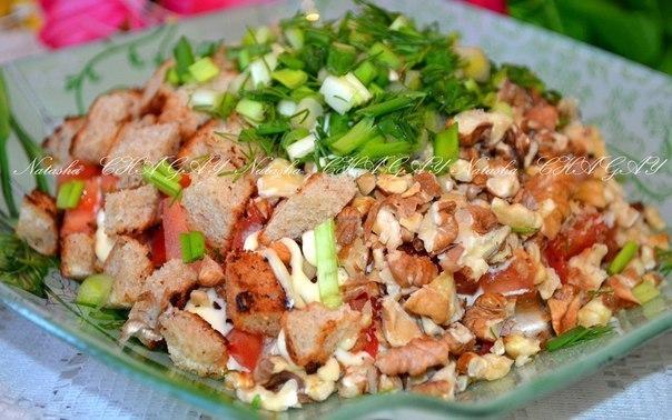 Вкусные салаты рецепты с с куриным мясом