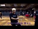 Seungkwan (ft. seokmin) freestyle dancing to hiphop unit's mixtape - sukyo