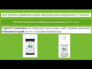 Очищение: Алгоритм реабилитации ЖКТ от к.н.м Антилевского В.