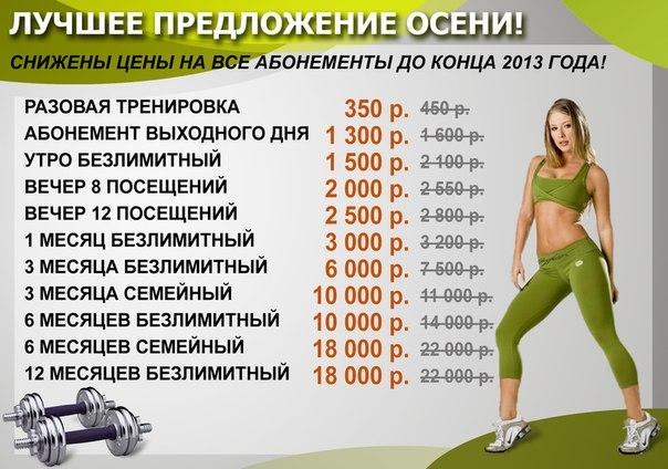 Программа тренировок для похудения и сжигания