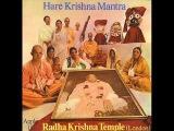 Radha Krishna Temple (London)   Hare Krishna Mantra (1971)