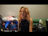 Zara Larsson reacts to Skavlan guests (Adele, Bruno Mars, Rihanna, Kanye West, SKAM-Noora)