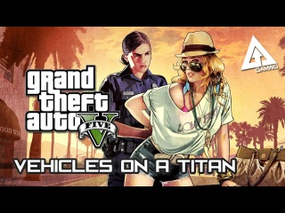 GTA 5 Gameplay - How To Load Vehicles On To A Titan Cargo Plane (Grand Theft Auto V)
