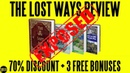 The Lost Ways Review (2018) ⚠️WARNING⚠️ Don't Buy The Lost Ways Before You Watch This!