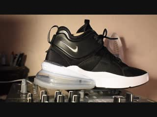 Nike air force 270 black silver white