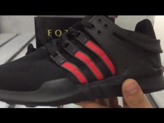 f047e595d16c Adidas EQT Support ADV Core Black - Unboxing On-feet