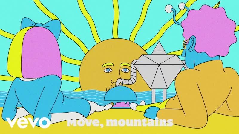Премьера. LSD (Labrinth, Sia, Diplo) - - Mountains (Lyric Video)