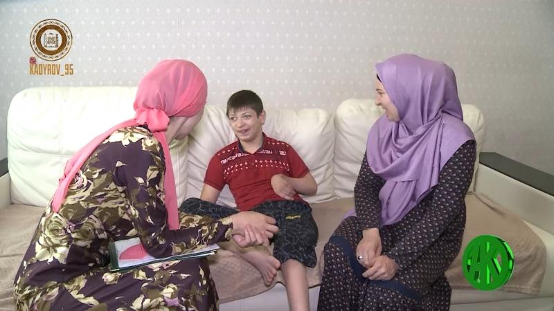 Аймани Несиевна протянула очередную руку помощи жителям Чечни и Ингушетии...