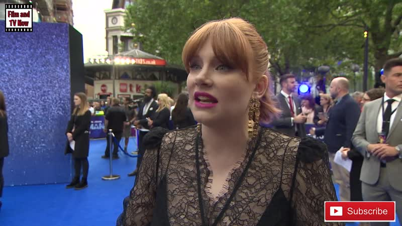 Bryce Dallas Howard discusses all things Rocketman at the UK Premiere