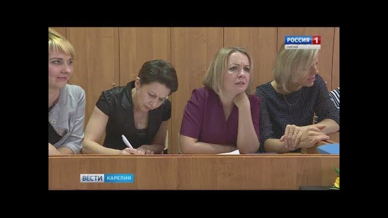 Ученики и учителя поменялись местами в школе Петрозаводска