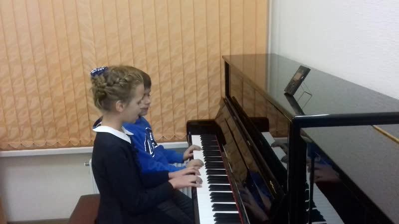 О.Хромушин -Этюд в манере джаз-вальса