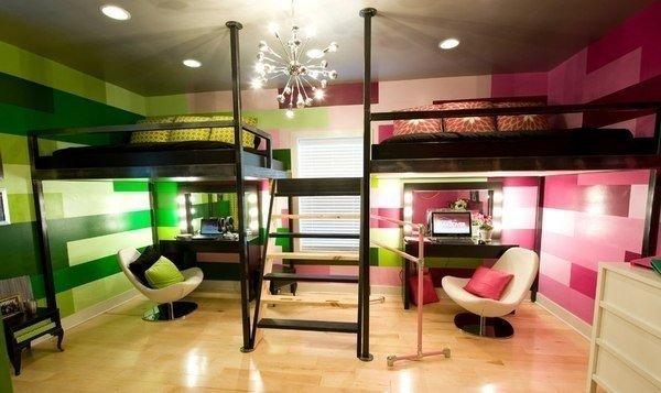 Идея детской комнаты для мальчика и девочки… (1 фото)