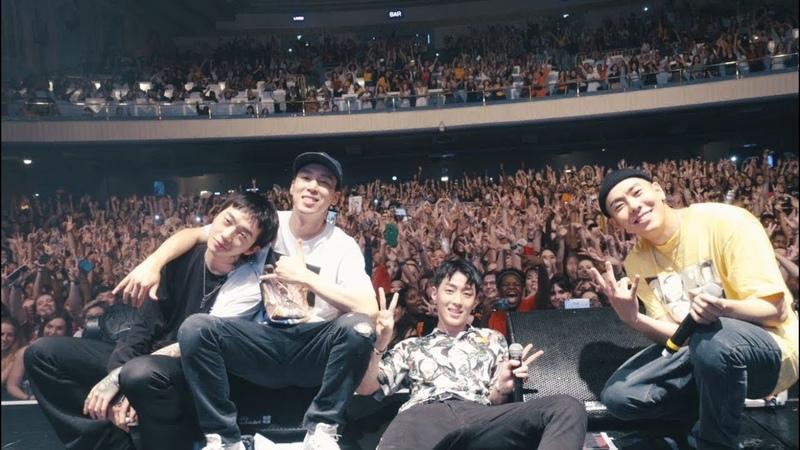 GRAY, Loco, Woo and DJ Pumkin London Tour 2018 Highlight (ENG)