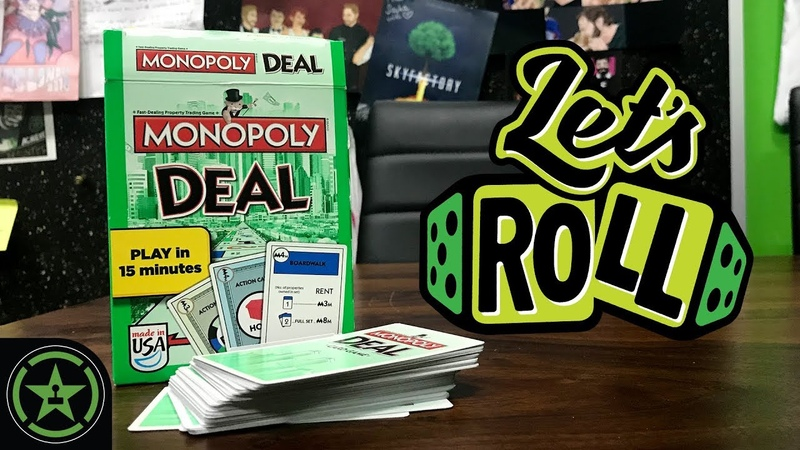 Softcore Tabletop - Monopoly Deal - Let's Roll