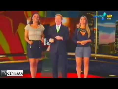23/04/2010 | Adriana Lessa e Nelson Rubens discutem ao vivo no TV Fama
