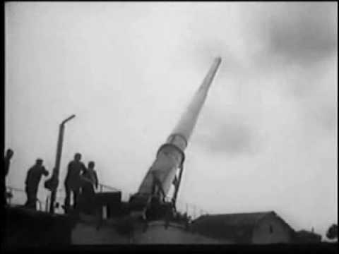 28 cm K5(E) at Anzio
