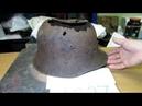 Восстановление сложнго австрийского шлема М-17.Александр(реставратор).Видео№80