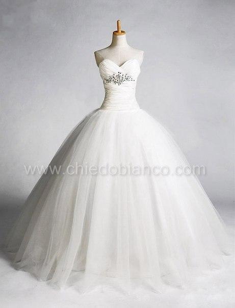 Г москва очень пышные платья невесты