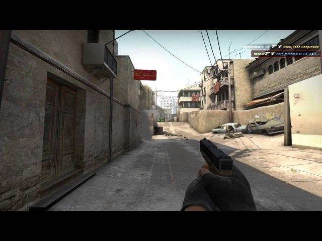 [CSGO] hesh1k vs mix @ pistol round