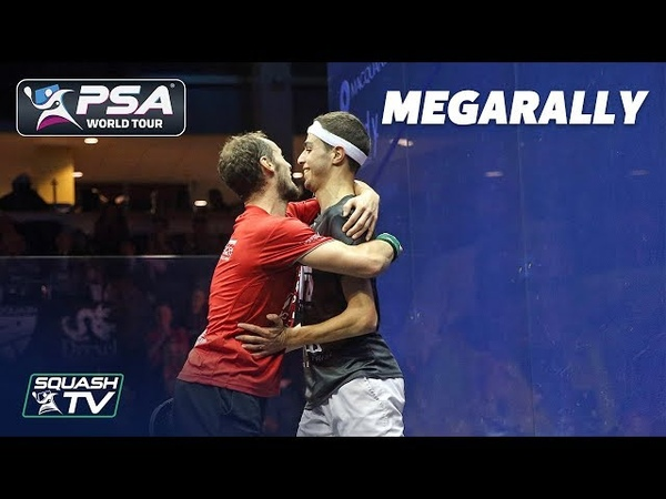 This is quality, such good squash! - MegaRally - Gaultier v Farag - US Open 2018