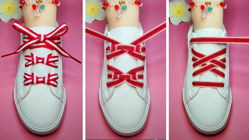 LACE SHOES | TOP 30 cool ideas how to tie shoe laces | 2018