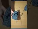 Как связать тапочки на двух спицах Часть 2 ❤