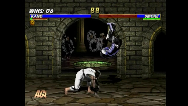 Mortal Kombat Trilogy (PSX) - Longplay as MK1 Kano