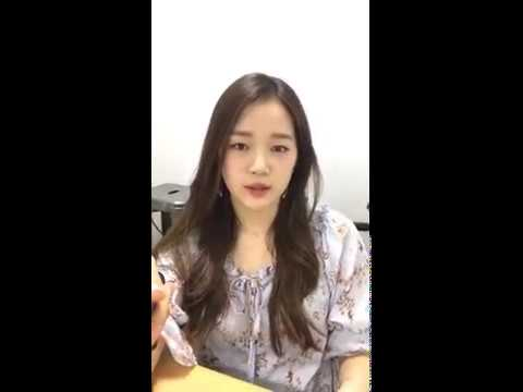 Lime Soda Hyerim (김혜림) Instagram Live [180515]