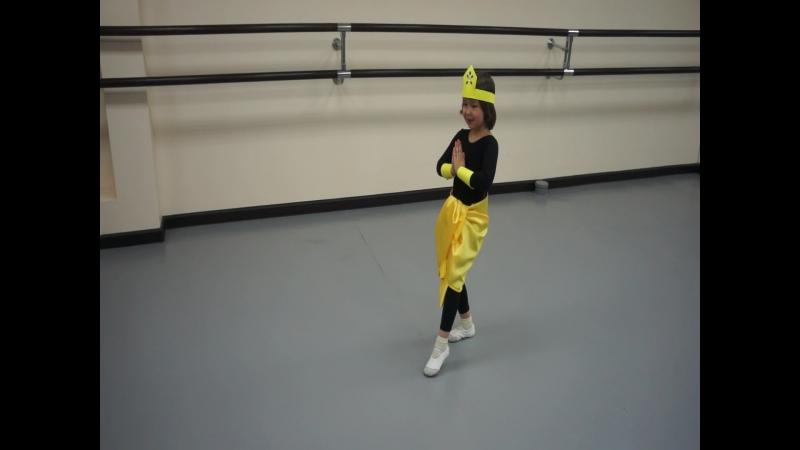 Танец Маленького балетмейстера Регины Лукиной