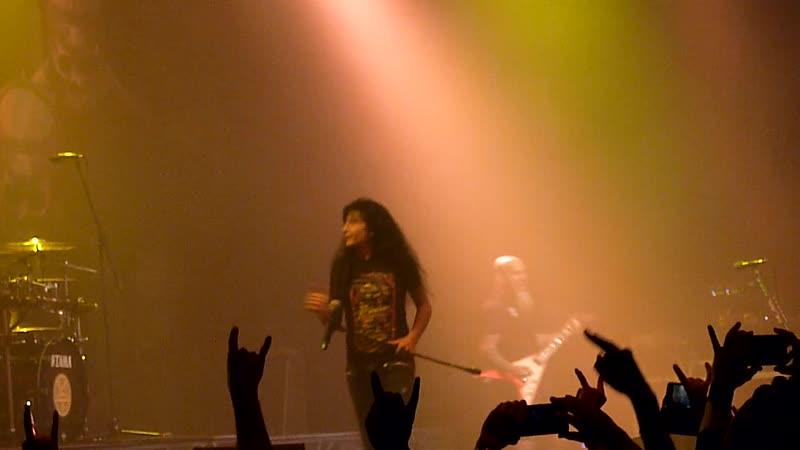Anthrax - Among the Living, Caught in a Mosh, Got the Time (Joe Jackson cover) (Москва, Citton Hall, 09.12.2018)