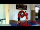 Wu Quan Li Xanda Sanshou training