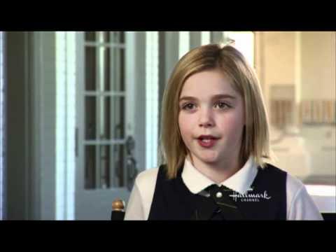 HALLMARK CHANNEL - EXCLUSIVE - SMOOCH - Kiernan on working with Kellie