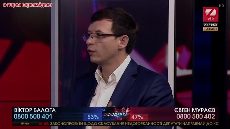 19 октября 2017 На Украине осталось 25 млн населения из 52 млн - Евгений Мураев