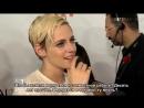 Интервью Кристен Стюарт и Лоры Дерн для ET Canada на премьере JT Leroy русс суб