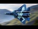 Российский истребитель пятого поколения Су 57 пролетел на сверхмалой высоте