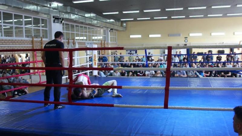 Платунов Олег (Шквал, Киров) vs Нурматов Асаджон (ММА-Север, Сыктывкар)