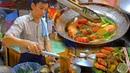 How to make Casseroled Shrimp King Prawns Glass Noodle Street Food