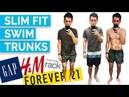 2017 Men's Swim Trunks Try On (HM, Gap, Forever 21, Ralph Lauren, Hugo Boss, Vans and MORE)