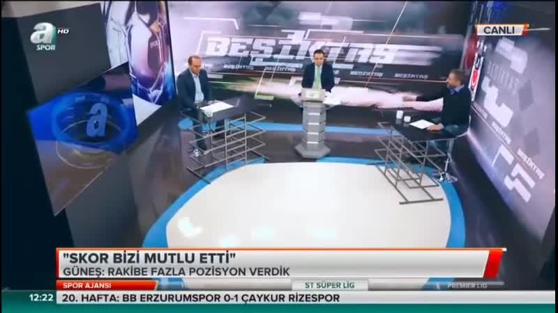 Antalyaspor 2-6 Beşiktaş - Serdar Sardıdağ ve Savaş Çorlu yorumları - Spor Ajansı 4 Şubat