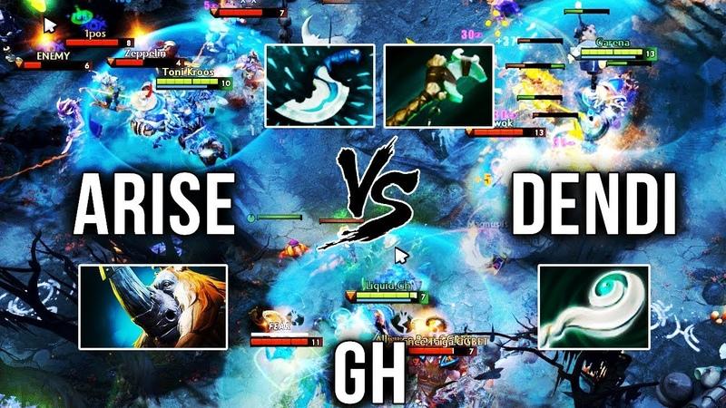 Ar1Se- vs Dendi vs gh - WHO IS THE BEST MAGNUS in 7.20 Patch - Dota 2