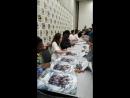 Фанаты поздравляют Алисию с Днём Рождения на Комик-Коне в Сан-Диего 20.07.2018