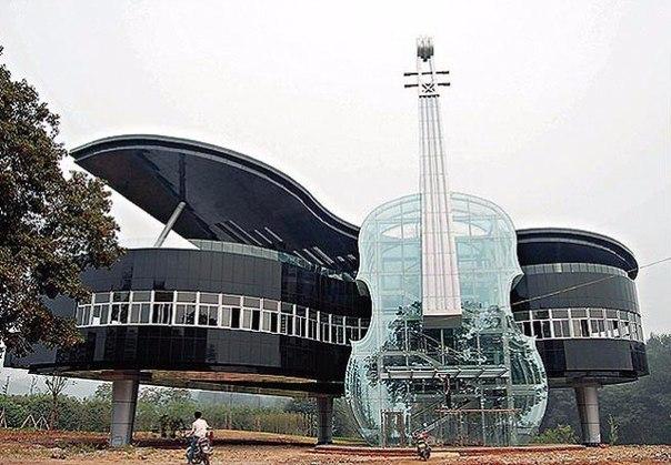 Дом-рояль в китайском городе Хуайнань